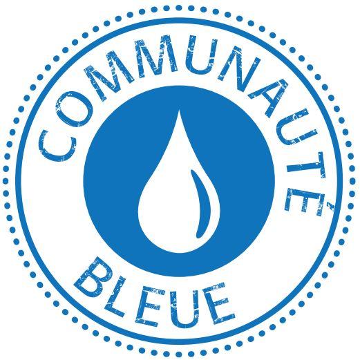 logo communauté bleue