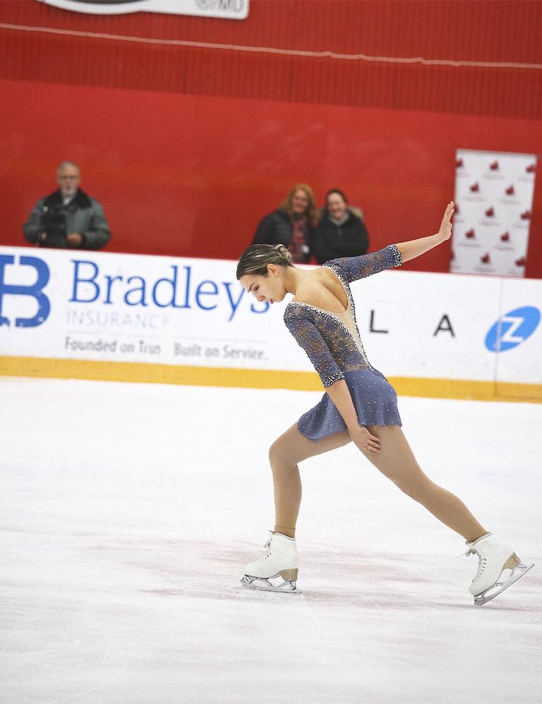 Jennyfer Richer-Labelle, patineuse et athlète