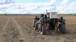 Tracteur électrique autonome