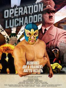 L'affiche du film Opération Luchador.