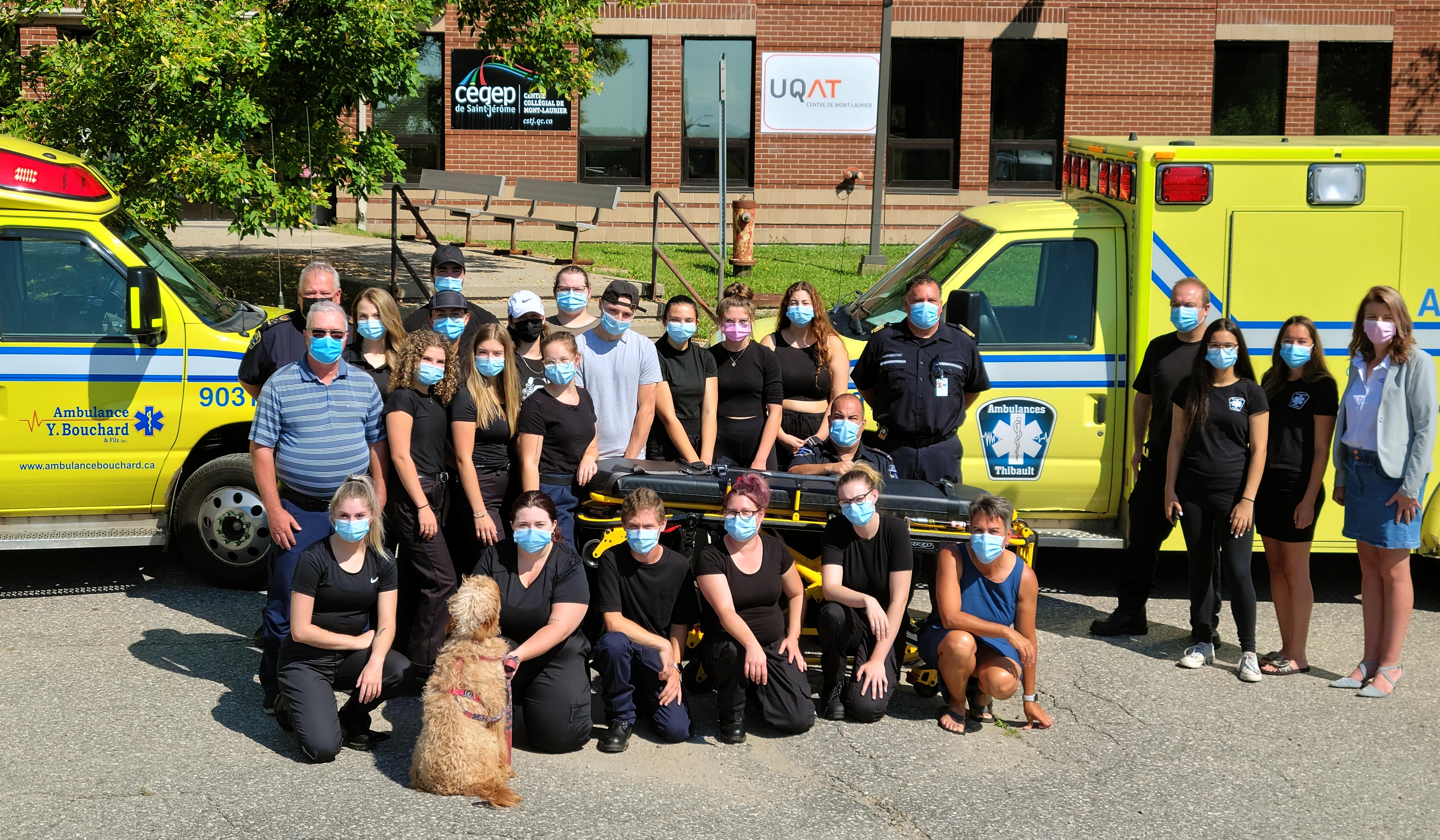 Le Centre collégial de Mont-Laurier accueille ses premiers étudiants en Soins préhospitaliers d'urgence