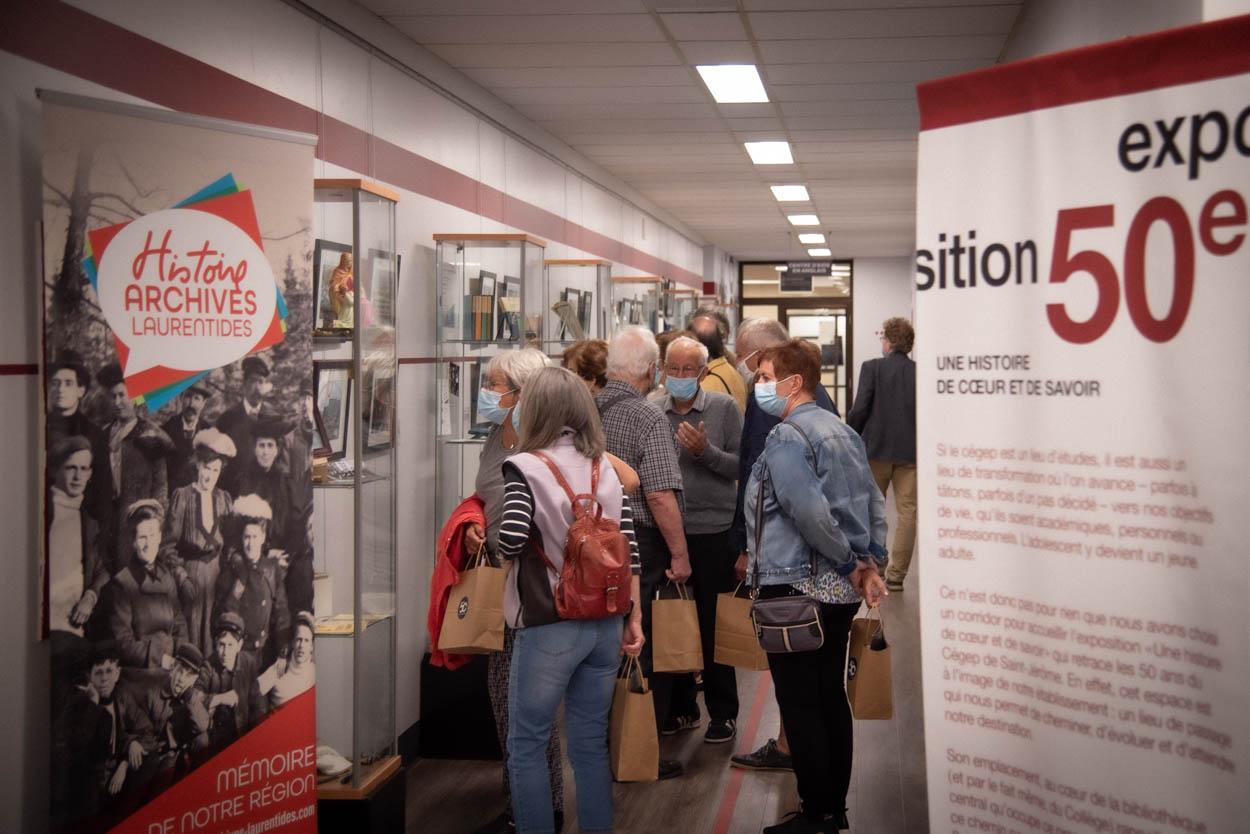Inauguration de l'exposition «50 ans de cœur et de savoir»