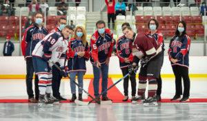 Match inaugural – Cheminots hockey